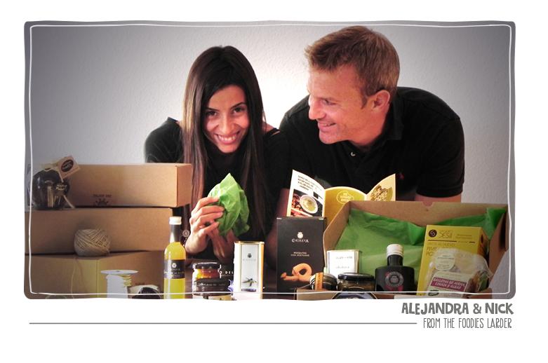 Alejandra & Nick from The Foodies Larder
