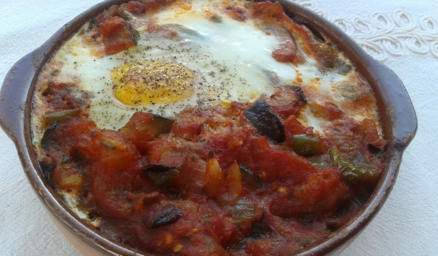 Eggs a la Flamenca